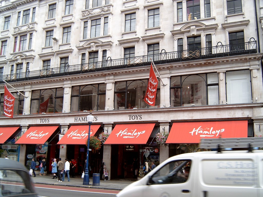 hamleys-london-sevärdheter