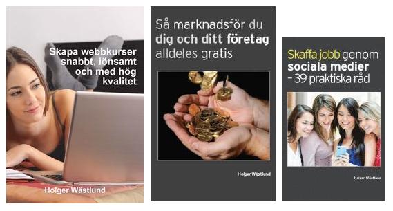 Holger Wästlunds böcker