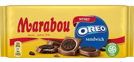 Marabou Oreo Sandwich chokladkaka