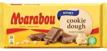 Marabou cookie dough chokladkaka
