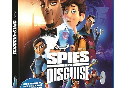 Spies in Disguise på Blu-ray