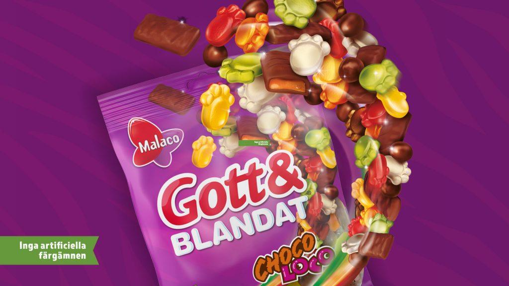 Gott & Blandat Choco Loco
